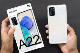 Lộ diện mẫu Galaxy A22 5G rẻ nhất của Samsung