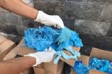 Thái Nguyên: Chặn đứng 13,5 tấn rác thải găng tay y tế chuẩn bị được tái chế