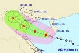 Áp thấp nhiệt đới gây mưa lớn, cảnh báo nguy cơ lũ quét