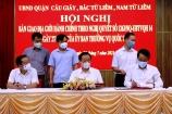 Hà Nội: Bàn giao địa giới hành chính giữa các quận Cầu Giấy, Nam Từ Liêm, Bắc Từ Liêm