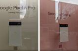 Bộ đôi Pixel 6 và Pixel 6 Pro được trưng bày tại New York