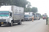 Bình Phước: Bắt giữ 1 xe tải chở 7 người trốn chốt kiểm dịch COVID-19