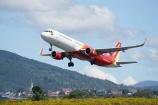 Mở lại 7 đường bay từ 10/10, Vietjet sẵn sàng đón khách trên các chuyến bay xanh, an toàn phòng chống dịch bệnh