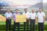 Tập đoàn T&T Group trao tặng 2.000 tấn xi măng hỗ trợ thị xã Sa Pa cứng hóa nền nhà và làm đường