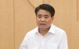 Đình chỉ công tác chủ tịch UBND TP. Hà Nội Nguyễn Đức Chung