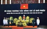 Tổ chức lễ truy điệu và an táng nguyên Tổng Bí thư Lê Khả Phiêu