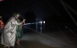 Kon Tum: Cầu Tri Lễ ngập sâu 2m, QL14 bị chia cắt hoàn toàn