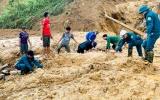 Khẩn trương tìm kiếm các nạn nhân bị vùi lấp ở Nam Trà My và Phước Sơn