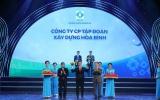 Tập đoàn xây dựng Hoà Bình 7 năm liên tiếp đạt Thương hiệu Quốc gia Việt Nam