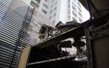 Hà Nội: Hệ thống điều hòa chung cư bốc cháy, hàng trăm người tháo chạy