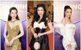 Huỳnh Vy, Trà Ngọc Hằng, Dương Yến Nhung đọ chân dài tại thảm đỏ dịp đầu năm