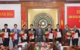 Nhiều nhân sự chủ chốt được Ban thường vụ tỉnh Thanh Hóa công bố Quyết định