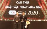 Văn Quyết giành danh hiệu VĐV tiêu biểu năm 2020