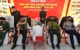 Phát động phong trào tuổi trẻ quân đội tham gia hiến máu tình nguyện