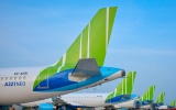 Bamboo Airways đã vượt lên đứng đầu về số đường bay nội địa