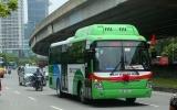 Sở GTVT Hà Nội đề xuất mở rộng vùng phục vụ của 2 tuyến bus năng lượng sạch