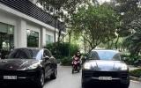 """Tạm giữ cặp xe sang Porsche trùng biển số """"chạm mặt"""" ở Hà Nội"""