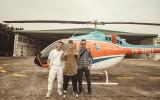 Young Uno và LK du ngoạn bằng trực thăng trong MV 'Ngai Vàng'