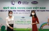 Vinamilk & Quỹ sữa vươn cao Việt Nam trao tặng 1,7 triệu ly sữa hỗ trợ trẻ em khó khăn giữa dịch Covid-19