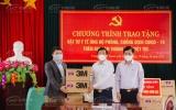 TMV Hoàng Tuấn trao tặng máy tạo oxy và trang thiết bị y tế phòng chống dịch COVID-19 tại Phú Thọ