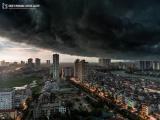 Bão số 1 suy yếu thành áp thấp nhiệt đới, Hà Nội mưa dông