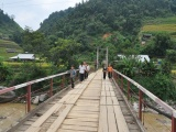 Điều chỉnh Đề án xây dựng cầu treo dân sinh đảm bảo ATGT