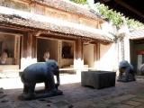Hà Tĩnh: Độc đáo những cổ vật bằng đá tại đền Gôi Vị