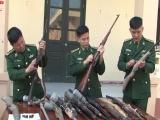 Hà Tĩnh: Vận động thu hồi nhiều vũ khí trên địa bàn biên giới