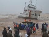Khẩn trương tìm kiếm, cứu nạn thuyền viên mất tích tại biển Cửa Việt