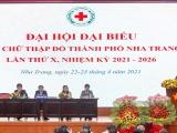 Khánh Hòa: Đại hội Đại biểu Hội Chữ thập đỏ TP Nha Trang lần X