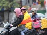 Không khí lạnh tăng cường, Đông Bắc Bộ và Bắc Trung Bộ trời rét