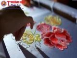 Thêu ren Văn Lâm – Nét tinh hoa ấp ủ trong từng đường kim mũi chỉ