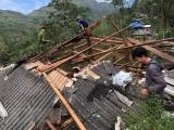 Mưa đá, giông lốc khiến 3 người tử vong ở Lai Châu