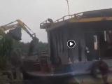 Quảng Ninh: Lại thêm một tàu than, xít nghi lậu bị tẩu tán tại TP Uông Bí