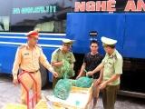 Quảng Ninh: Thu giữ và tiêu hủy 200kg cua nhập lậu