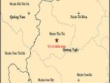 Trong 5 giờ, liên tiếp xảy ra 4 trận động đất tại Quảng Ngãi