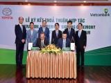 Vietcombank và Toyota Motor Việt Nam ký kết thỏa thuận hợp tác