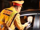 Xử lý nghiêm vi phạm nồng độ cồn và đua xe trái phép dịp Tết