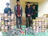 Quảng Bình: 221 kg pháo lậu bị bắt giữ trên đường chuyển lậu vào Việt Nam