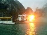 Vụ cháy tàu trên Vịnh Hạ Long: Đình chỉ hoạt động cả đội tàu