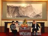 Tổng Bí thư tiếp đoàn đại biểu Hội Hữu nghị Đối ngoại Nhân dân Trung Quốc