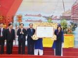 Lễ hội đền Cửa Ông được công nhận Di sản văn hóa phi vật thể quốc gia