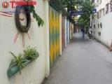 Điểm tập kết rác bỗng đẹp lạ thường bằng 'nghệ thuật sắp đặt' ở Hà Nội