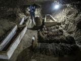 Phát hiện hàng chục xác ướp nguyên vẹn trong mộ cổ ở Ai Cập