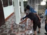 Nghệ An: Cả gia đình phải sơ tán vì thềm nhà bỗng dưng nóng bất thường