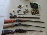 Quảng Ninh: Bắt giữ đối tượng tàng trữ 8 khẩu súng và 41 viên đạn