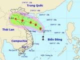 Bão số 2 áp sát Nam Định - Nghệ An, có thể gây mưa lũ rất lớn