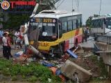 Nghệ An: Xe buýt tông một người tử vong
