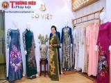 NSND Lan Hương đằm thắm trong lễ ra mắt thương hiệu áo dài Eo Việt