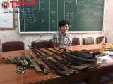 Nghệ An: Bắt đối tượng buôn bán ma túy, tàng trữ nhiều vũ khí nóng